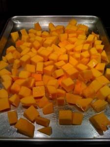 squash cubes