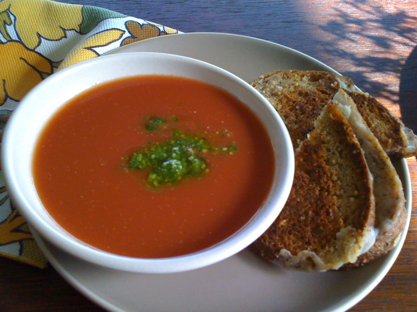 What is an easy tomato soup recipe?