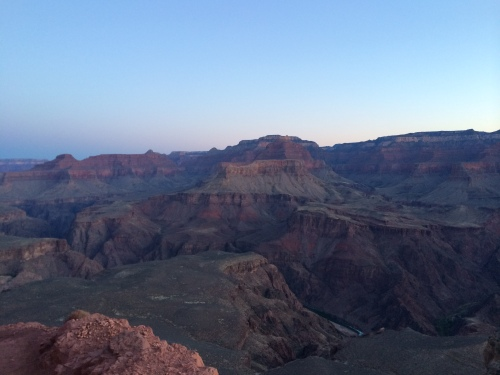 Dawn at South Kaibab