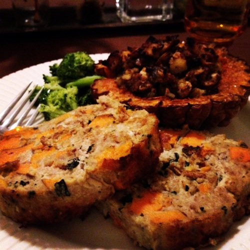 Turkey Sweet potato loaf (instagram) 001